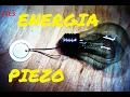 Darmowa energia z blaszki piezo Ciekawostka Pod Napięciem S4E3