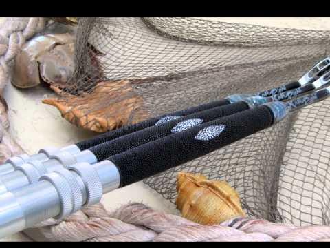 AMAZING EXOTIC Custom Fishing Rods