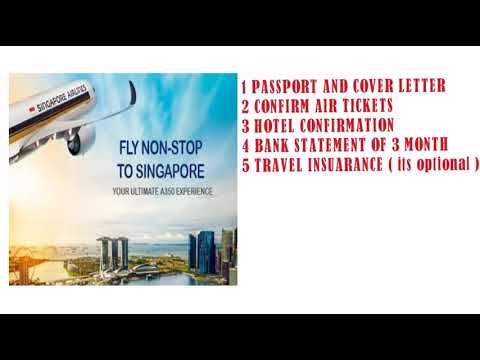 SINGAPORE TOURIST VISA IS TOO EASY