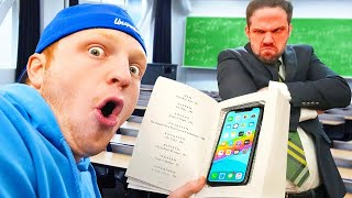 10 Ways To SNEAK Your PHONE Into CLASS!