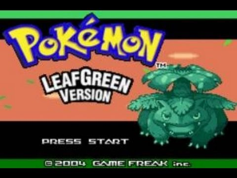Pokémon Leaf Green Walkthrough Part 13  Giovanni and Pokémon Tower!