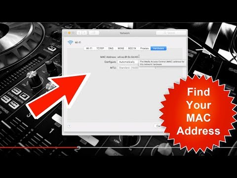How To Find A MAC address On A Mac