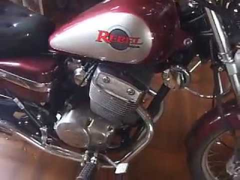 REBEL 250cc Used motorcycle ,Export from Osaka japan