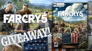FAR CRY 5 GIVEAWAY ANNOUNCEMENT + UPDATES!!!