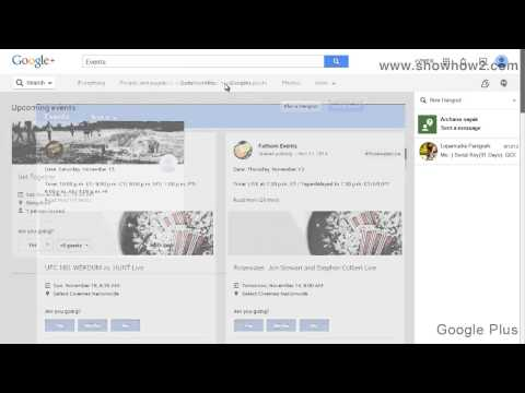 Google+ - How To Share A Public Event Post
