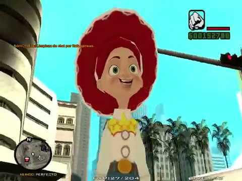 Gta San Andreas skin Jessie Vakera Toy Story