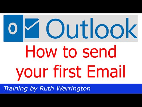 Outlook 2014 - How to send your first email using Outlook