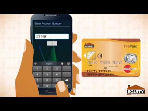 How to top up Pre Paid Card with MPESA