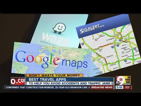 What are the best traffic apps?