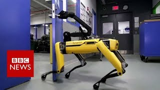 The robot that can enter your house - BBC News