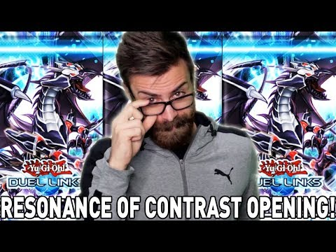 RESONANCE OF CONTRAST BOX OPENING! | YuGiOh Duel Links Mobile & Steam w/ ShadyPenguinn