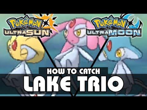 How to Catch Uxie, Mesprit, and Azelf! | Pokémon Ultra Sun and Moon | Legendary Pokémon