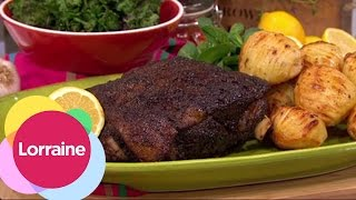 Middle Eastern Slow Cooked Shoulder Of Lamb From Nadia Sawalha Lorrai