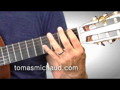 Great Guitar Practice Warm up Exercise - Speed Developer Finger Placement Routine