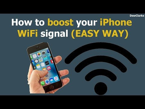 How to boost your iPhone wifi signal