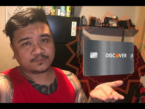 DISCOVER IT SECURED CARD UNBOXING