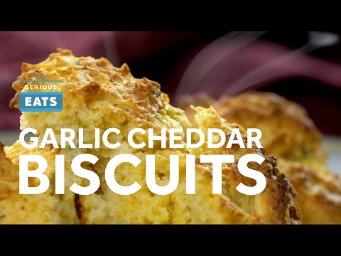 How to Make Garlic Cheddar Drop Biscuits