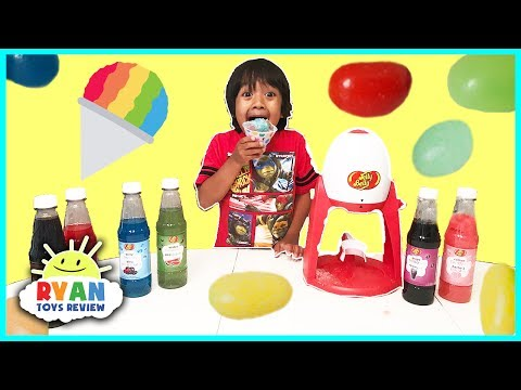 Jelly Belly Candy Electric Snow Cone Maker!