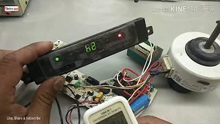 New fan motor setting AC pcb,H6,F6,E6 error code - PakVim