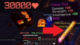 hypixel skyblock: the magma boss