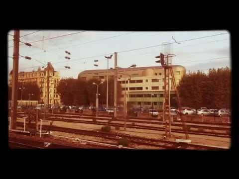 Travelling to Nice from Cannes and Monaco by train - a timelapse video