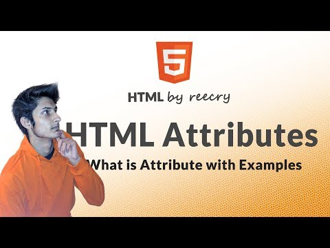 What is HTML attributes ? - Learn HTML in Hindi