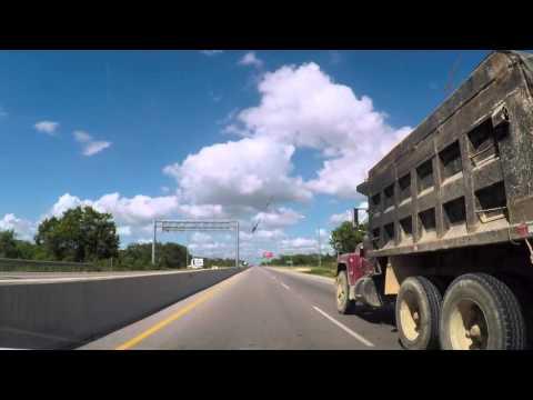 Driving in Dominican Republic. Punta Cana to Santo Domingo 2/2
