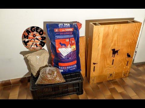 Zásobník na granule / DIY Dog Food Dispenser