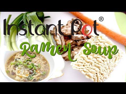 Instant Pot Ramen Soup | Cook with me
