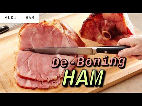 De-boning a Ham-Cheap eats