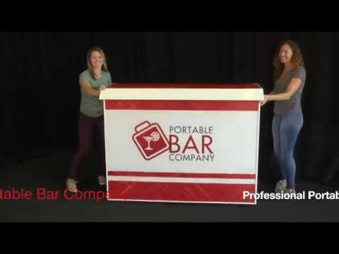 Professional Portable Bar Assembly