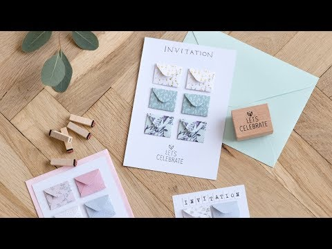 DIY : Make your own party invitations by Søstrene Grene