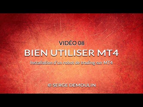 VIDEO 08 - INSTALLATION D'UN ROBOT DE TRADING SUR MT4