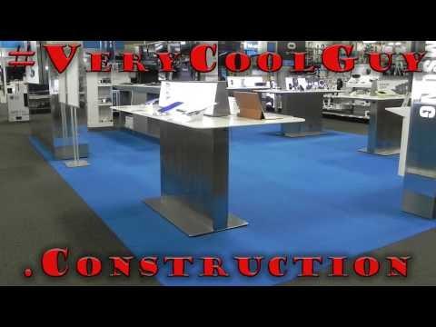 Carpet Tiles Installation - Timelapse