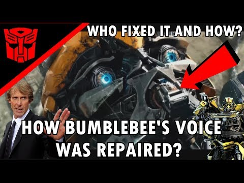 The real reason how Bumblebee got his voice back(Explained)- Transformers The Last Knight