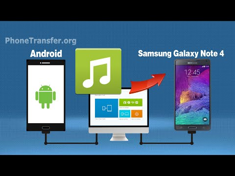 How to Sync Music to Samsung Note 4, Copy Music from old Android Phone to Galaxy Note 4