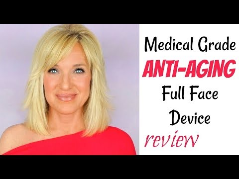 Medical Grade ANTI-AGING Device REVIEW Full Face LED Light Panel