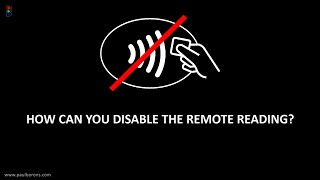 How to disable the remote reading of your contactless card