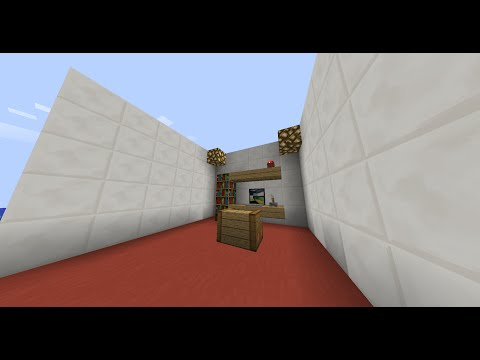 Minecraft: How to make a office desk