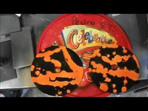 How to make your cheap custom Drink Coasters! airbrushed cds