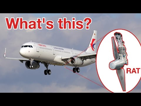 What´s a RAT? RAM AIR TURBINE! Explained by