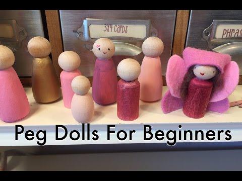PEG DOLLS FOR BEGINNERS | HAIR