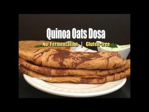 Healthy Quinoa Oats Dosa