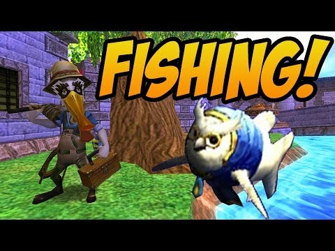 Wizard101: Fishing! - Catching the Rarest Fish in the Game! - Part 2 (Test Realm)