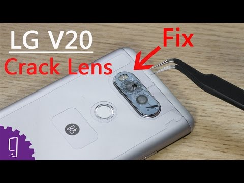 LG V20 Cracked Camera Lens Repair Guide