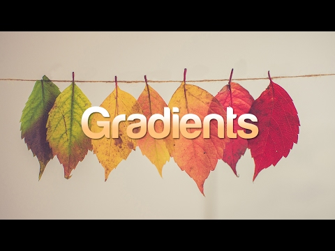 How to Apply Gradient On Text in Adobe Photoshop In Two  Different Ways