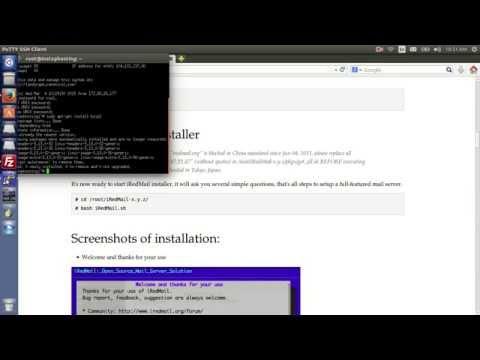 How to Create Email Server on Ubuntu 14