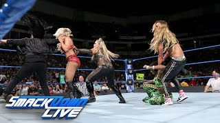 Naomi & Charlotte Flair vs. Natalya & Carmella: SmackDown LIVE, May 2, 2017