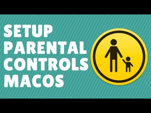 How to setup parental controls macOS Sierra
