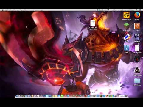 How to set animated wallpapers (MAC USERS)